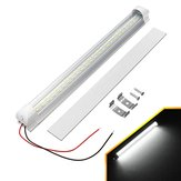 DC12-24V 5730SMD 48 LED Rigid Strip Grill Light Bar Hard Tube Cabinet Lamp