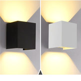 12W Up/Down Wall Lamp Sconces Light Warm White/White Waterproof for Home Bedroom AC85-265V