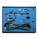 9cc Dual Action 3 Краскопульт Воздушный компрессор Набор Крафт-распылитель краски для торта