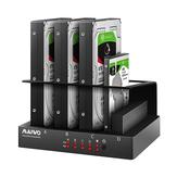 MAIWO K305BU3S 2,5 / 3,5-Zoll-SATA-Festplatten-SSD-Gehäuse 4 Steckplätze Dockingstation Festplattengehäuse für Windows Linux Für Mac