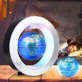 Carte du monde flottante électronique flottante à lévitation magnétique avec lumière LED
