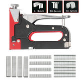 3 in 1 Heavy Duty Staple Guns 600 Nails Upholstery Stapler Tacker Hand Tool Kit