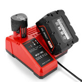 12/18V Rapid Charger M12-18C Fit For Milwaukee M12 M18 48-11-1850 Li-ion Battery Charger