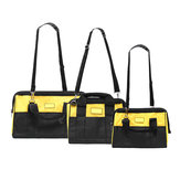Zipper Electrician Repair Tool Bag Waist Storage Drill Cordless Belt Pouch SML