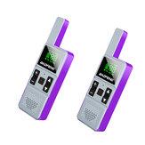 BAOFENG RS-U1 Plus Mini Walkie Talkie 400-470 MHz 25 Signaalkanalen USB Opladen Handheld Two Way Ham Radio Jagen Wandelen met koptelefoon