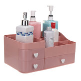 34x22x15cm Plastic Cosmetic Organizer Makeup Case Holder Drawers Jewelry Storage Home Desk Storage Supplies