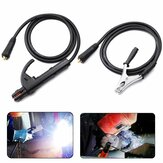 Drillpro 200A Groud Welding Earth Abrazadera Juego de clips para máquina de soldadura MIG TIG ARC 1.5M Cable 10-25 Enchufe