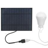 Portable LED Solar Lamp Solar Energy Light Solar Panel  Powered Emergency Bulb For Outdoor Garden Camping Tent Fishing
