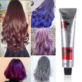 صبغة شعر لون شبه دائم كريم تلوين الشعر 6 ألوان أدوات العناية بالشعر للنساء / الرجال 100 مل