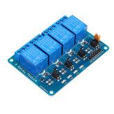 12V 4-kanaals relaismodule PIC ARM DSP AVR MSP430 Geekcreit voor Arduino - producten die werken met officiële Arduino-boards