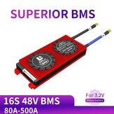 DALY BMS 16S 48V 80A 100A 120A 500A 3.2V LifePo4 18650 BMS Batteria Scheda di protezione con modulo al litio bilanciato Batteria