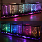 Kit Geekcreit® DIY Imitate Glow Relógio Full Color RGB Glow Tube Relógio LED Kit Music Spectrum