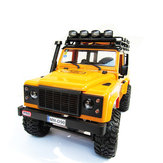 MN-90 1/12 2.4G 4WD Rc Auto-Upgrade-Teile Weiß LED Licht Spotlight W / Metal Base