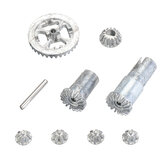 HS 18301 18301 18311 18312 18321 18322 Upgraded Metal Differential Gear Kit 1/18 RC Car Spare Parts