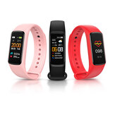 Bakeey C7 Blood Pressure and Oxygen Monitor Wristband Visible Message App Remind Weather Display Smart Watch