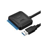 Cabledeconn Adapter dysku twardego USB 3.0 do SATA Konwerter Dysk twardy Kabel danych 0,5 m Złącza do dysku twardego 2,5