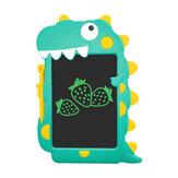 Aituxie LCD Tablet Escrita Monocromática Verde Caligrafia Proteção para os olhos para crianças Presente de aniversário ecologicamente correto Doodle Board Novo bloco de desenho de dinossauro para meninos