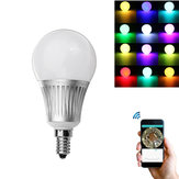 Milight E14 5W RGB+CCT Dimmable WiFi APP Phone Control Smart LED Global Light Bulb AC85-265V
