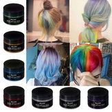 7色使い捨てヘアカラーワックスヘアスタイリングクリーム