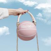 Женская мода Баскетбол Футбольные цепочки Повседневная сумка Crossbody Сумка