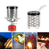IPree® Mini Aquecedor Fogão de aço inoxidável de outono / inverno para barraca de aquecimento Fogão aquecedor para viagens em acampamento