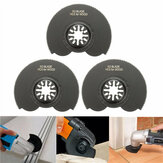3pcs 88mm High Carbon Steel Semicircle Flush Saw Blades Ocsillating Acessórios Multitool