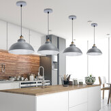Retro Metal Pendant Lampshade Ceiling Light Shade Modern Industrial Kitchen Bar Table Chandelier