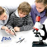 Mikroskop 100X 400X 1200X Zoom Biological Scientific Instruments Edukacyjny Kids ScienceToy