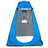 Privacy Shower Toilet Camping Tent UV Protection Waterproof Bathing Shelters 3 Window Folding Portable Canopy