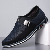 Original              Men Breathable Non Slip Comfy Soft Bottom Slip On Casual Business Loafers Shoes