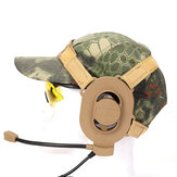 Tactical Bowman Elite II Headset Earphone For Z-TAC Bowman Unilateral Headphone Airsoft Accessories