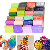 32PCS DIY Pottery Clay Plasticine Craft Malleable Fimo Polymer Modelling Soft Block Toy Gift