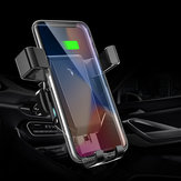 10W Qi Wireless Charger Fast Charging Quick Charge 3.0 Gravity Air Vent Car Phone Holder For Smart Phone iPhone Samsung Huawei Xiaomi Non-original