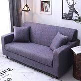 Pure Color Slipcover For 3 Seater Sofas Machine Washable Sofa Cover