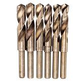 Drillpro HSS-Co Cobalt Сверло с уменьшенным хвостовиком M35 13,5-30 мм HSS Сверло 1/2 дюймов Хвостовик для сверления дерева, металла, нержавеющей стали