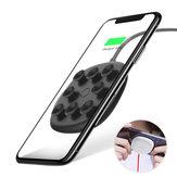 Baseus Spider Sugekop Qi Trådløs oplader Opladepude til iPhone XS Max XR Note 9 S9 +