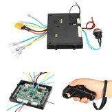 Control Module Board Dengan Case + Remote Controller Untuk 24 / 36V Dual Motors Skateboard 630W Brushless