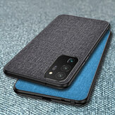 Bakeey для Samsung Galaxy Note 20 Ultra Чехол дышащий холст противоударный защитный чехол Чехол задняя крышка