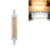 R7S 118 MM 10 W SMD2835 Warm Wit Puur Wit Geen Stroboscopische LED Maïs Gloeilamp AC85-265V