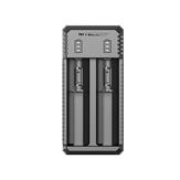 NITECORE UI2 Dual-Slot Intelligent USB Lithium-ion Battery Charger For 18650 18350 20700 21700 ETC