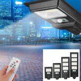 300W-1200W LED Solar Street Light Road Garden Waterproof Wall Lamp with Remote Control