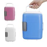 Mini refrigerador para veículos 4L, aquecimento e resfriamento para veículos Caixa, refrigerador para veículos domésticos, duplo propósito, isolamento térmico