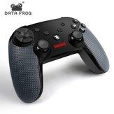 Manette de jeu bluetooth sans fil DATA FROG manette de jeu à six axes Gyroscope Turbo manette de jeu pour jeu PC pour Nintendo Switch