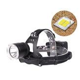 XANES®28101800LMXHP50LEDFarol 18650 Bateria Interface USB 3 Modos À Prova D 'Água Camping Caminhadas Ciclismo Pesca Luz Lanterna Portátil