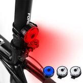 BIKIGHT USB LED kerékpár hátsó lámpa 100lm 3 mód állítható kerékpár figyelmeztető lámpa hátsó lámpa kerékpározás