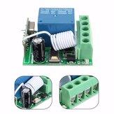10pcs DC12V 10A 1CH 433MHz Wireless Relay RF Remote Control Switch Receiver Board