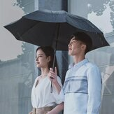 90Fun 8K Automatic Reverse Folding Umbrella Led Luminous Windproof Wind Resistant Umbrella UPF50 + Anti UV Von