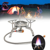 Outdoor Folding Mini Cooking Stove Waterproof Gas Burner Furnace Camping Picnic