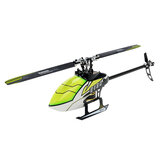 Everyine E180 6CH 3D6G System Dual Brushless Direct Drive Motor Flybarless RC Helicopter BNF متوافق مع FUTABA S-FHSS