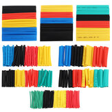 328pcs Heat Shrink Tubing Insulation Listrik Shrinkable Tube Sleeve Cable 2: 1